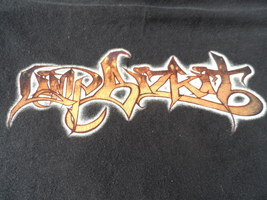 Limp Bizkit Vintage Black T-shirt Large 100% Cotton 2001 Nu Metal Band J 7d4acba61620