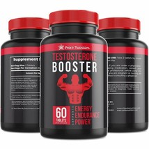 Pete'S Testosterone Booster - (60 Caplets) - Natural Stamina, Endurance ... - $28.23