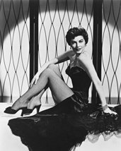 Ava Gardner B&W Print Leggy Pin Up 16X20 Canvas Giclee - $69.99