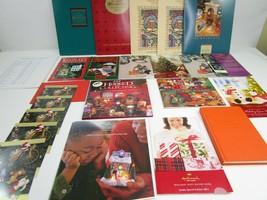 LOT Hallmark Keepsake Ornaments Dream Book Catalogs + Christmas Cards  - $27.70