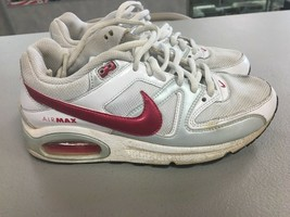 Nike Air Max Command - 407626-001 - White Pink - Girl's Size 5y - Good C79 - $9.74