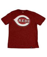 Cincinnati Reds Men's Majestic T-Shirt Size Large Red MLB Baseball - $14.84