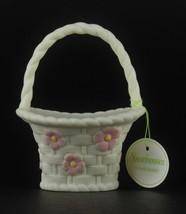 "Snowbunnies Department 56 ""Flower Basket"" Easter 2000 - $15.84"