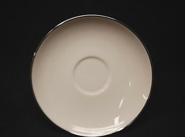 """Old Vintage Carmel by Franciscan 6"""" Saucer Plate Pink & Gray Center Flowers - $8.90"""