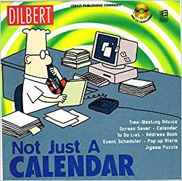 Dilbert not just calendar