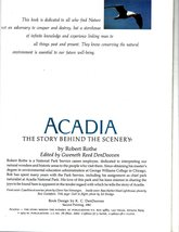 ACADIA The Story Behind The Scenery (Travel Book) image 3