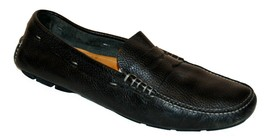 Cole Haan Mens Black Casual Loafer  Leather Shoes Size US12 M P/O - $29.69