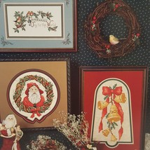Christmas Creations Cross Stitch Leaflet Stoney Creek 1990 Rain Drop Ang... - $9.99