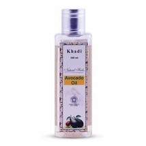Khadi Natural Herbs Avocado Massage Oil Regenerate Mature Damaged Skin-1... - $10.69