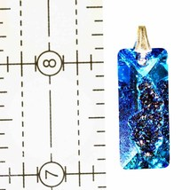 Swarovski Rectangular Growing Crystal Pendant image 3