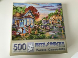 Bits and Pieces Puzzles Cory Carlson Welcome Neighbors 500 Piece Puzzle 45100  - $39.39