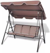 Outdoor Garden Swing Lounger Chair Waterproof Backrest Seat Backyard Por... - $195.48