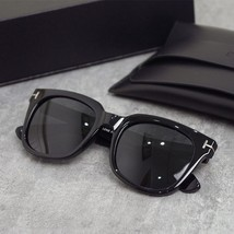 tom ford tf rectangle sunglasses women men 2020 uv400 high quality black blue pi - $14.81