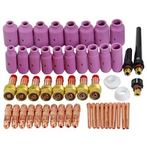 TIG Gas Lens Collet Body Consumables Kit Fit WP 17 18 26 TIG Welding Tor... - $69.96