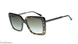 Gucci Women's Sunglasses GG0216S 002 Havana/Brown Gradient Lens Square 53mm - $232.80