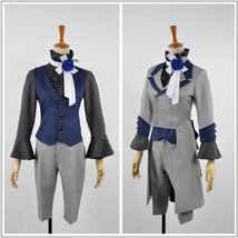 Black Butler 3 Ciel Phantomhive Grey Suit Cosplay costume - $109.99+