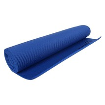 Yoga Mat Gym Exercise Fitness Pilates Meditation Mattress 6mm Non slip A... - $32.77