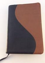 NKJV POCKET COMPANION BIBLE Nelson LEATHER #1493 RED LETTER 1991 - $16.82