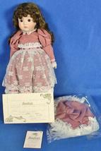 "Porcelain Doll Bradley's Collectible Dolls 13"" Taylor w/ COA Joanna Hart... - $29.95"