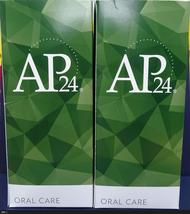 Two pack: Nu Skin Nuskin AP 24 Anti-Plaque Oral Care System in BOX x2 - $100.00