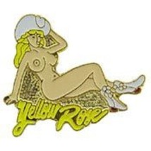 Usaf Yellow Rose Nose Art Pin - $5.93