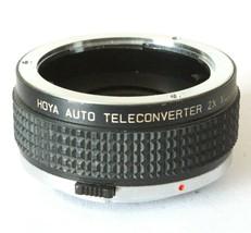 Hoya 2x Auto Teleconverter Multicoated For Olymus OM Lens Mount - $7.67