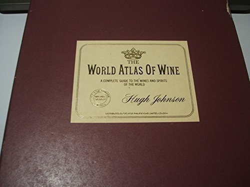 Primary image for The World Atlas of Wine by Hugh johnson (1971-10-04) [Hardcover]