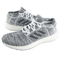 Adidas Men's Pureboost GO Running Shoes Athletic Training Gray/White B37809 - £97.94 GBP
