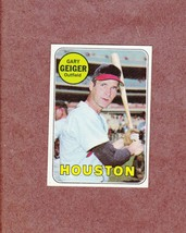 1969 Topps # 278 Gary Geiger Houston Astros Nice Card - $2.99
