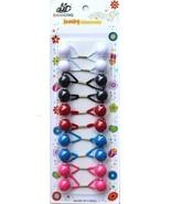 10 Elastic Hair Bands Hair Ties Hair Band Rope Elastic Ponytail Holder F... - $5.99