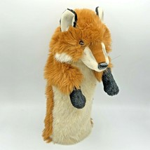 Fox Plush Stage Hand Puppet Theater Toy Brown 15 inches Long - $24.99