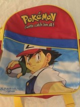 Thermos Brand Pokemon Reusable Insulated School Lunch Bag Ash Backpack - $12.86