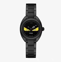 Fendi Momento Yellow Bug Eyes Dial and Diamond Watch F215621500D1 - $1,125.00