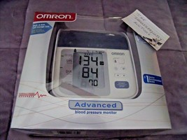 OMRON Advanced Blood Pressure Monitor W/ Cuff For Standard & Large Arms ... - $33.81