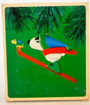 Hallmark: Snoopy and Woodstock - Skiing - 1984 Classic Ornament - $16.42