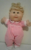 Cabbage Patch Kids Play Along Doll Signed By Xavier Roberts Pink Outfit ... - $9.90