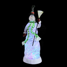 "11"" Color Changing Festive Snow Snow Christmas Glitterdome - tkchriscen - $61.95"