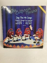 The California Raisins Sing The Hit Songs Record LP vinyl 1987    - $23.38