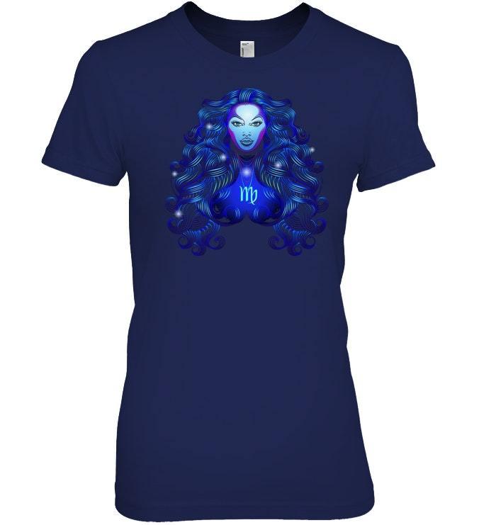 Virgo Neon Sign T Shirt