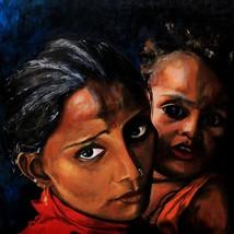 Aprajita Acrylic on Canvas Painting Alexius Art - $1,299.00