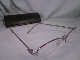 Anne Klein Eyeglass Frames AK9025 Metal Oval Full Rim Purple Lavender - $18.00