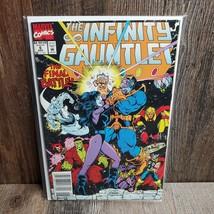 Marvel Comics The Infinity Gauntlet Volume 1 #6 (December, 1991) Key Issue - $9.85