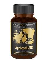 AgelessHAIR - Premium Hair Growth Formula for Healthier, Stronger, Shinier Hair