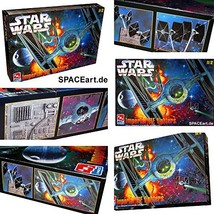 Star Wars Imperial Tie Fighters Model Kit AMT ERTL - $42.67