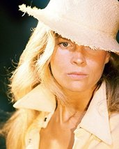 Candice Bergen 16x20 Canvas Giclee Sexy in Open Shirt and Sun Hat - $69.99