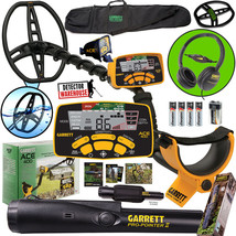 Garrett ACE 400 Metal Detector with Propointer II and Travel Bag plus ex... - $407.90