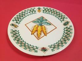 Tabletops Unlimited Garden Fresh Carrot Dinner Plate Minor Damage Free S... - $15.79
