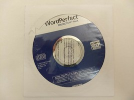 Corel WordPerfect Productivity Pack (2003) Factory Sealed. Dell P/N: 0J1894 - $7.77