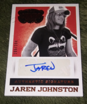 2015 Country Music Jaren Johnston Autograph Card #'d 199 of 394 - $15.00