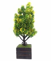 Discount4product Artificial Plant with Pot Garden Outdoor Home Décor Tre... - $49.00